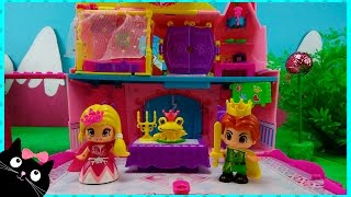 getlinkyoutube.com-Palacio de Princesas Pinypon - Pinypon Palace - Vídeos de Juguetes