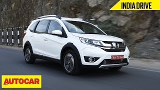 getlinkyoutube.com-Honda BR-V   India Drive   Autocar India