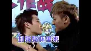 getlinkyoutube.com-[CUT] 130825 EXO (엑소) - Peppero kissing game China Love Big Concert