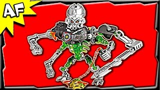 getlinkyoutube.com-Lego Bionicle Skull Slicer 70792 Stop Motion Build Review