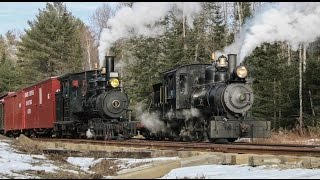 Wiscasset, Waterville and Farmington Railway: A Maine Two Foot Winter