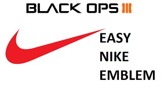 getlinkyoutube.com-Nike Logo Call of Duty Black Ops 3 Emblem Editor