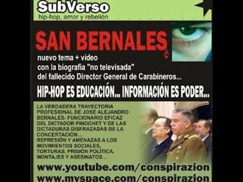 San Bernales de Subverso Letra y Video
