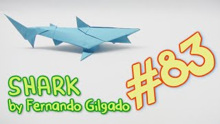 getlinkyoutube.com-Origami SHARK - Yakomoga Origami tutorial