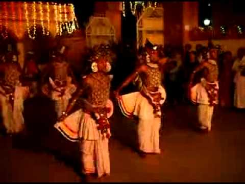 Feel SRI LANKA   Culture Express  KANDYAN ''VES'' DANCE   YouTube
