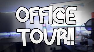 getlinkyoutube.com-OFFICE TOUR!! | TheDiamondMinecart
