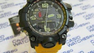 getlinkyoutube.com-Casio - G-Shock Mudmaster GWG-1000-1A9