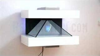 Holographic display. Dreamoc designed by RealFiction.com