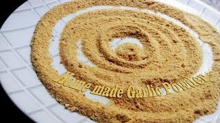 getlinkyoutube.com-Home made Garlic Powder