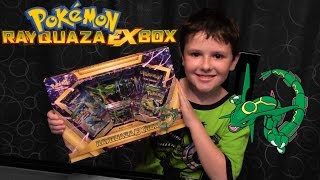 Pokemon Rayquaza EX Box Opening - Great Gift From Grandma and Grandpa!