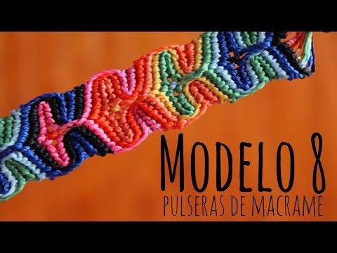 Modelo 8 / Pulseras de macramé ♥