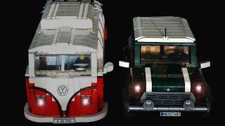 getlinkyoutube.com-Lego Creator 10242 Mini Cooper PF motorized RC ( 10220  10252 )