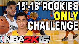 NBA 2K16 15-16' Rookies Only Challenge
