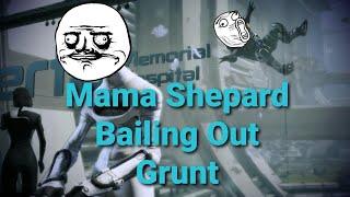 getlinkyoutube.com-Mass Effect 3: Citadel DLC Bailing Grunt Out