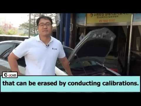 G-scan Linear Valve Learing Value Initialization on a Toyota Prius 2011