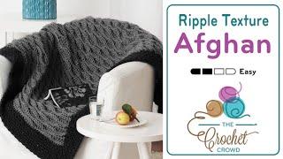 getlinkyoutube.com-How to Crochet An Afghan: Texture Ripple Afghan