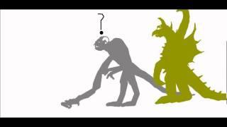 getlinkyoutube.com-PBA : Gigan VS Cloverfield monster