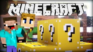 getlinkyoutube.com-Minecraft LUCKY BLOCKS BATTLE - DAS ERSTE MAL!