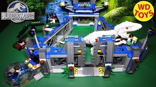 getlinkyoutube.com-New LEGO INDOMINUS REX BREAKOUT - 2015 Jurassic World Set 75919 - Unboxing & Review By WD Toys