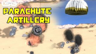 getlinkyoutube.com-Space Engineers -  Parachute Artillery