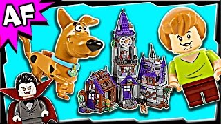 getlinkyoutube.com-Lego Scooby-Doo MYSTERY MANSION 75904 Stop Motion Build Review