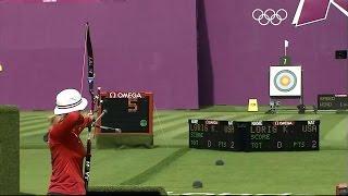 getlinkyoutube.com-The best archery shots ever! Olympics, London 2012