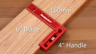 getlinkyoutube.com-Woodpeckers Model 640 & 850 Squares (Retired OneTIME Tool®)