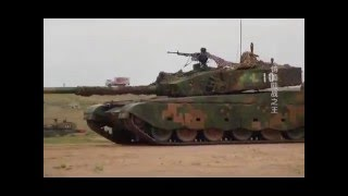 getlinkyoutube.com-The Most Powerful Chinese Tank ZTZ-99A Type 99A