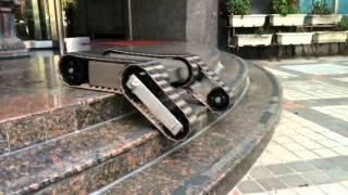 getlinkyoutube.com-RC UGV-Tracked vehicle chassis test履帶車底盤功能測試