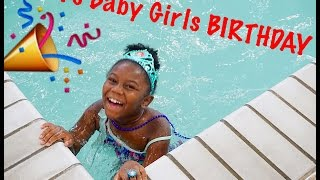 Vlog | Our Daughter Turns 7! | Mermaid Hotel Party