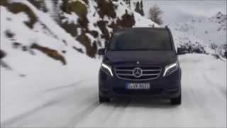 getlinkyoutube.com-Mercedes-Benz V 250 BlueTEC at the 4MATIC Winter Workshop