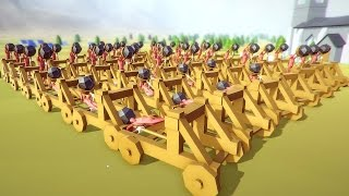 getlinkyoutube.com-Totally Accurate Battle Simulator - Amazing Catapult Army! - TABS Funny Moments Gameplay