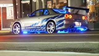 getlinkyoutube.com-Need for Speed Underground 2 Skyline Fast and Furious