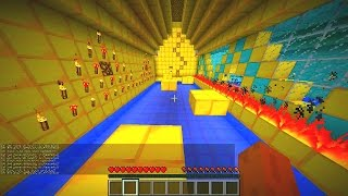 getlinkyoutube.com-Minecraft DIAMOND VS GOLD Parkour - Minecraft Parkour with Vikkstar & Woofless