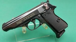 getlinkyoutube.com-Walther PP Kaliber 9mm P.A.K. (PTB 620) Review