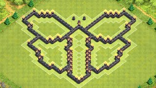 Clash of Clans - BEST Townhall 7 Butterfly Base - 2014