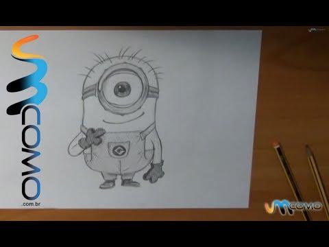 Como aprender a desenhar os Minions de Gru - O maldisposto