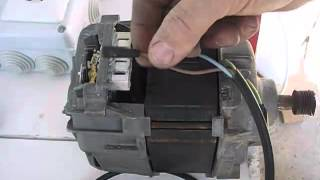 getlinkyoutube.com-Cómo conectar un motor de lavadora con escobillas, Connect washing machine motor with brushes