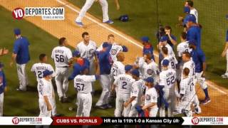 Chris Denorfia HR in 11th gives Cubs walk off win