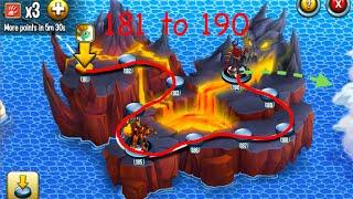 getlinkyoutube.com-Monster Legends Adventure Map, levels 181 to 190