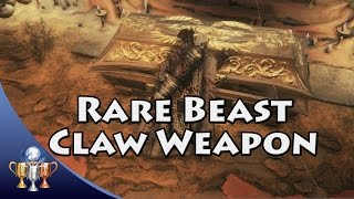 Bloodborne - Beast Claw Location (Rare Chalice Only Hunter's Weapon)