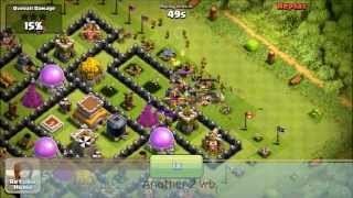 getlinkyoutube.com-[CoC:98th TH8 Def]4 Crystal League Defenses with Modified Ping's Tesla Theme Park :)