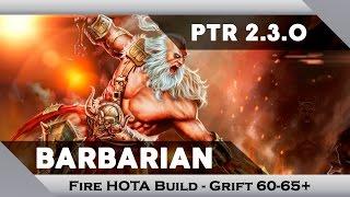 """getlinkyoutube.com-Diablo 3 - (PT-BR) Barbarian """"Fire HOTA"""" Build [2/2] - Grift 60-65+ (PTR 2.3)"""