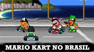getlinkyoutube.com-E se Mario Kart fosse no Brasil?