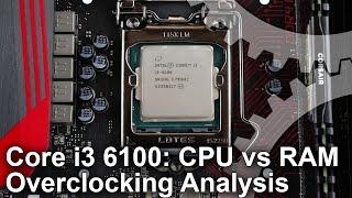 getlinkyoutube.com-Core i3 6100 4.4GHz/RAM Overclocking Benchmark Analysis