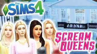 getlinkyoutube.com-Let's Play The Sims 4 Get Together • Scream Queens • Part 1