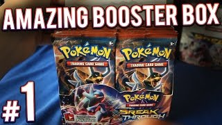 getlinkyoutube.com-Pokemon Cards - XY Breakthrough Booster Box Opening | PART 1 of 4