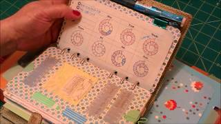 getlinkyoutube.com-Pingadex time planning pages for Personal and A5 Filofax free download + printing tutorial