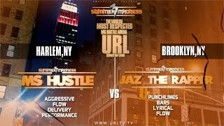 getlinkyoutube.com-SMACK/ URL PRESENTS MS HUSTLE VS JAZ THE RAPPER