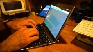 getlinkyoutube.com-Samsung Tab S 10.5 Bluetooth Keyboard Case Titanium Bronze Review